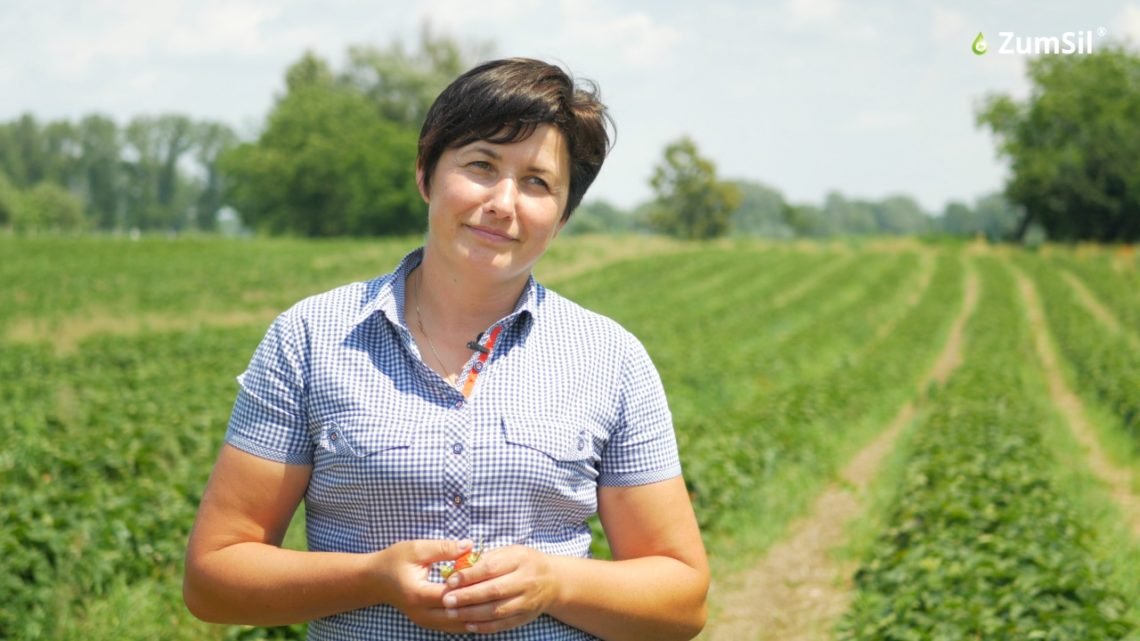 Pani Marta Wołoszyn. Fot. Perma-Guard Agro